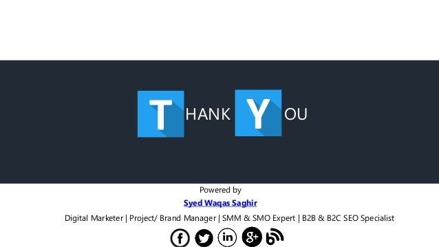 HANK OU Powered by Syed Waqas Saghir Digital Marketer | Project/ Brand Manager | SMM & SMO Expert | B2B & B2C SEO Speciali...