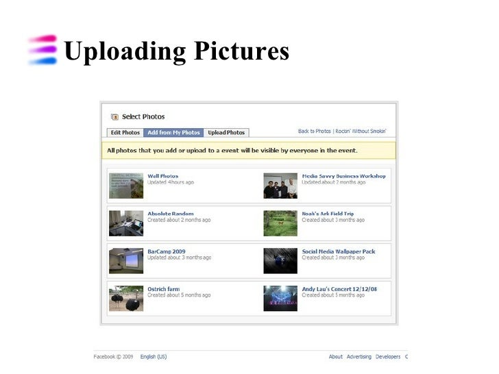 Uploading Pictures