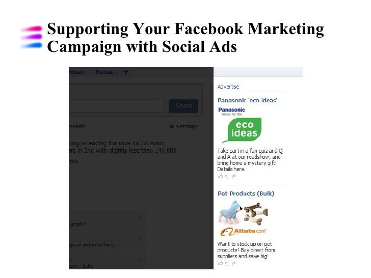 Supporting Your Facebook Marketing Campaign with Social Ads