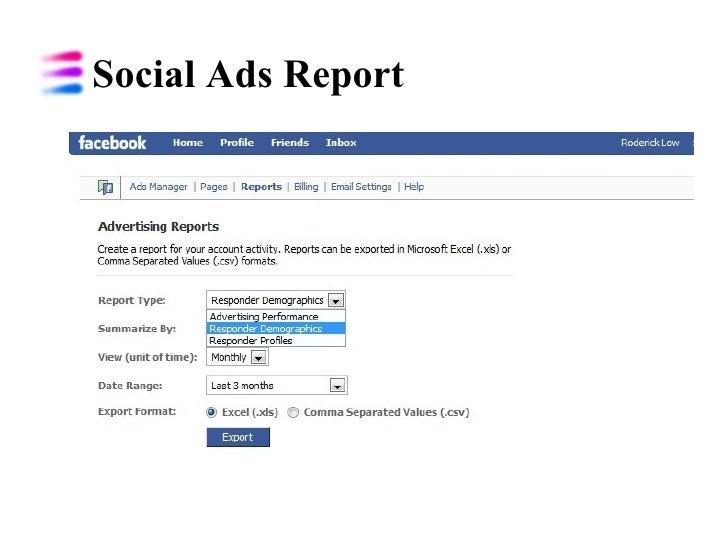 Social Ads Report