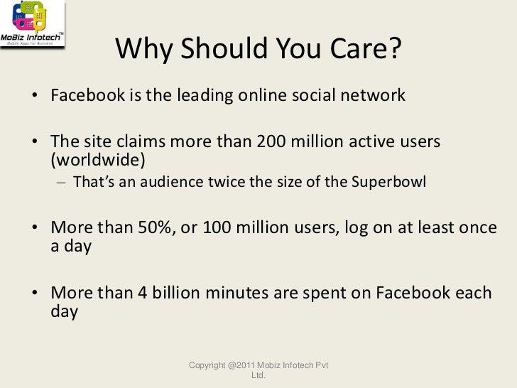 Facebook marketing Slide 2