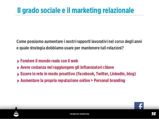Il grado sociale e il marketing relazionaleCome possiamo aumentare i nostri rapporti lavorativi nel corso degli annie qual...