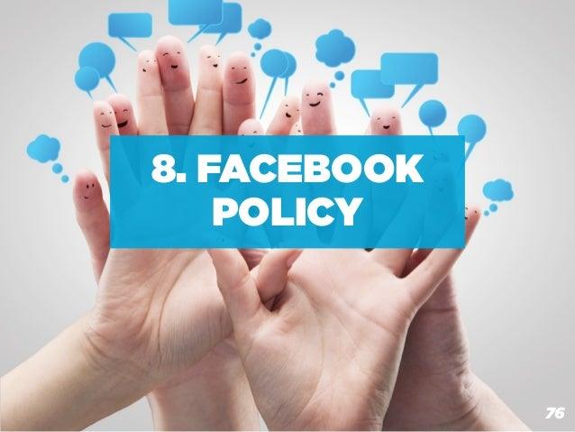 8. FACEBOOK    POLICY  BOX MARCHE: COMUNICAZIONE ON LINE 2.0                                          76