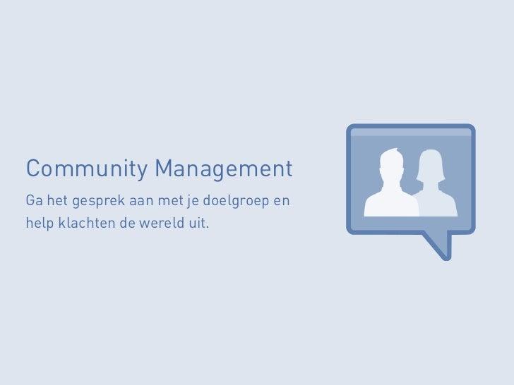 Social Plugin & APIIntegreer de kracht van Facebook op jeeigen website en binnen campagnes.