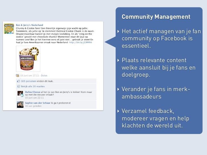 Social Plugin & API‣ Laat bezoekers op je eigen site zien wat er op je Facebook pagina gebeurt.‣ Laat bezoekers inloggen e...