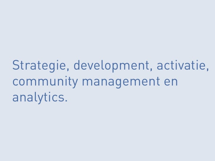 Facebook marketing in Nederland
