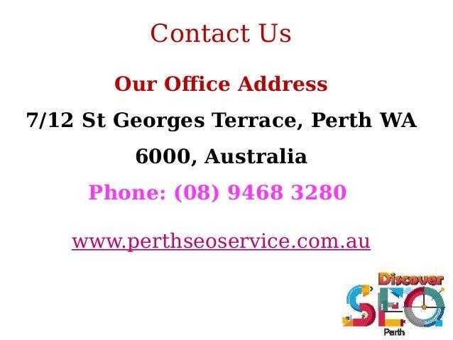 Facebook marketing perth seo services company for 100 st georges terrace perth wa 6000 australia
