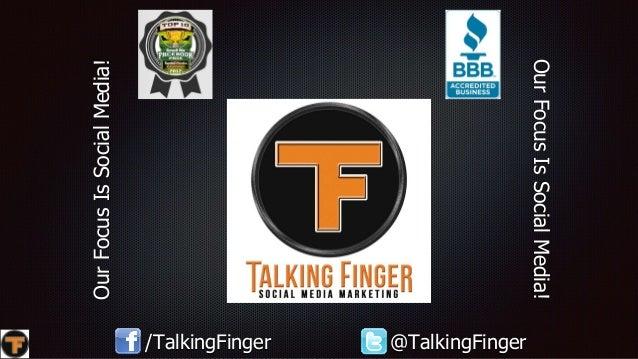 OurFocusIsSocialMedia! OurFocusIsSocialMedia! /TalkingFinger @TalkingFinger