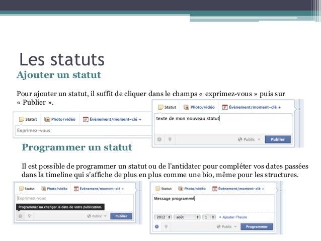 statut de datation pour FB nouveau site de rencontres occasionnels