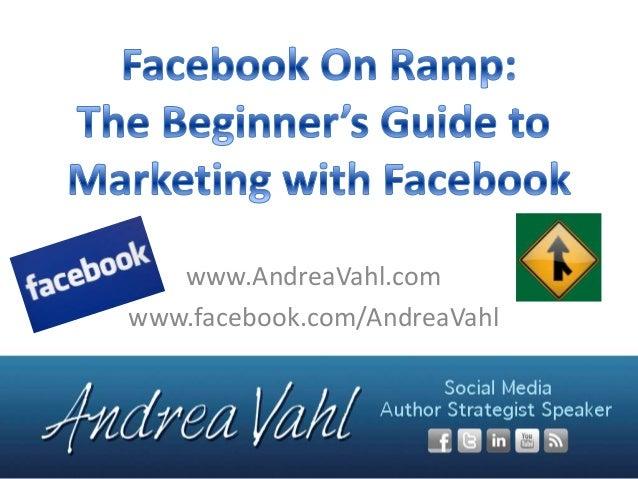 www.AndreaVahl.comwww.facebook.com/AndreaVahl