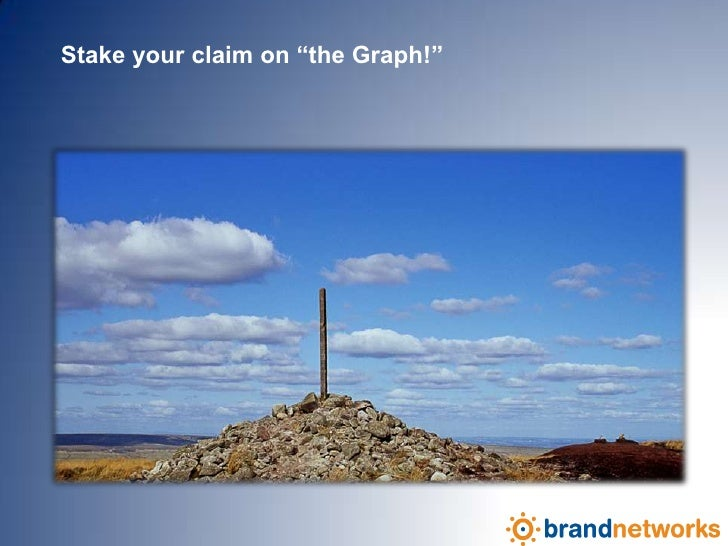 """Stake your claim on """"the Graph!""""<br />"""