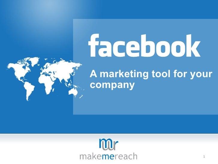 A marketing tool for yourcompany                       1