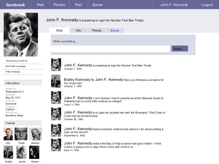 facebook John F. Kennedy  is preparing to sign the Nuclear Test Ban Treaty Wall Photos Flair Boxes John F. Kennedy Logout ...