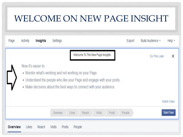 facebook page insights guide rh slideshare net On My Facebook Page Insights Facebook Insights Tutorial