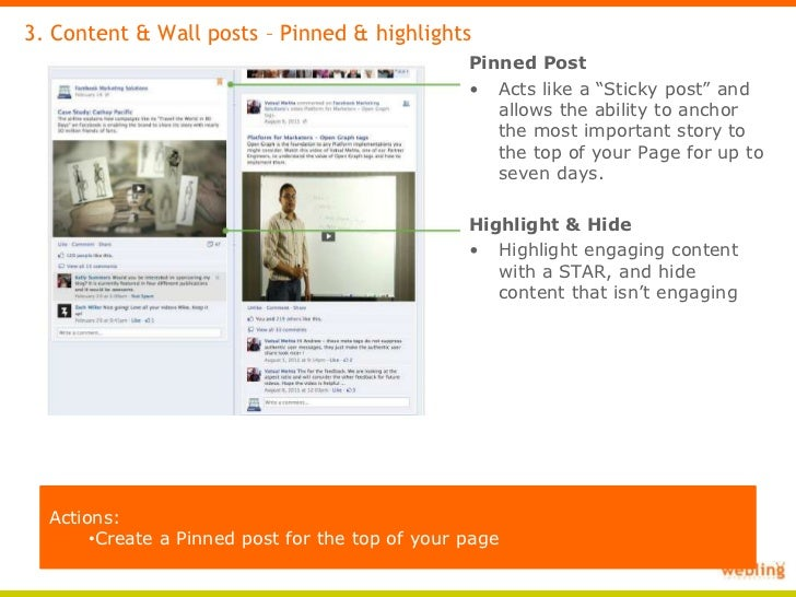Facebook pages timeline template Facebook Page Timeline Example