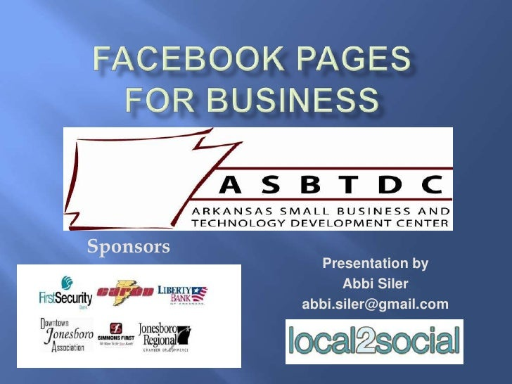 Facebook Pages For Business - ASUSBD