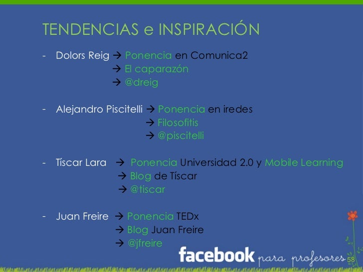 <ul><li>TENDENCIAS e INSPIRACIÓN </li></ul><ul><li>Dolors Reig     Ponencia  en Comunica2 </li></ul><ul><li>   El capara...
