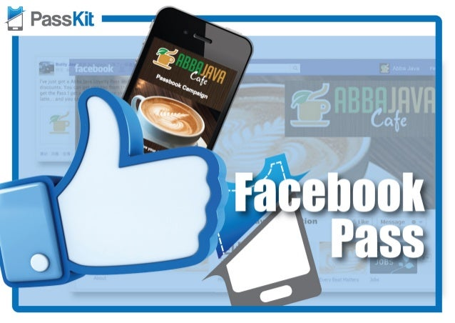 Facebook Viral Mobile Marketing with PassKit.com