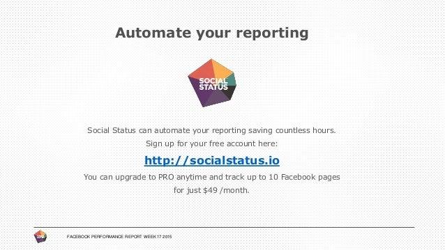 Facebook Performance Report Template – Performance Report Template
