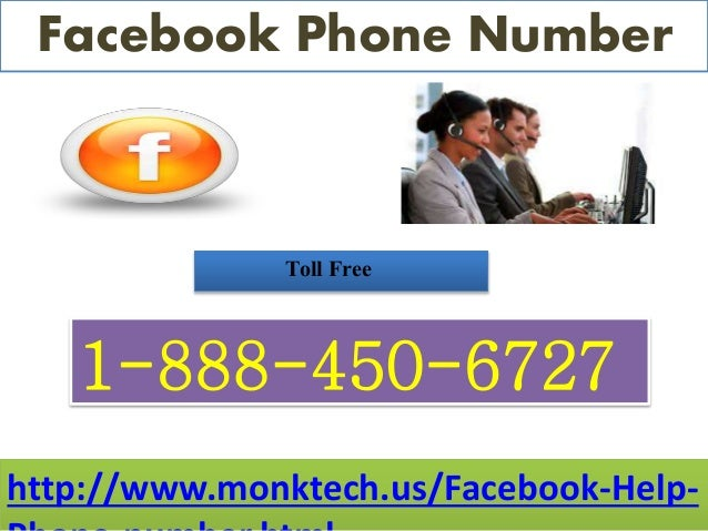 Will I get Facebook Phone Number 1-888-450-6727 at whatever