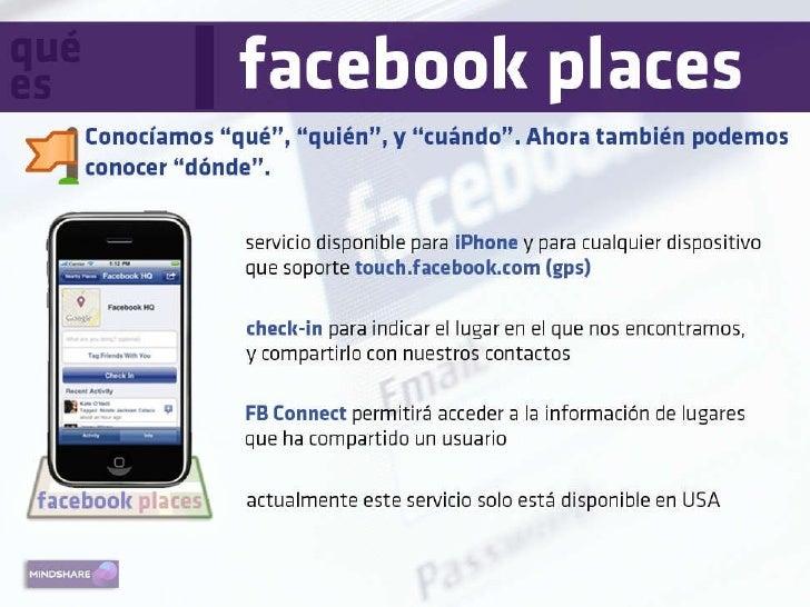 Facebook Places Mindshare Slide 3