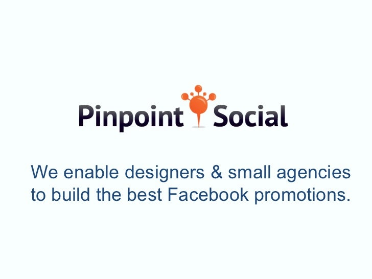 We enable designers & small agenciesto build the best Facebook promotions.