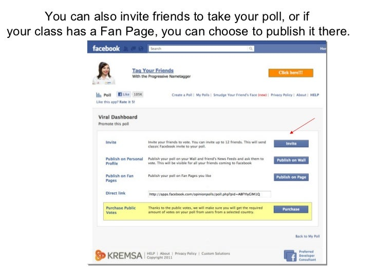 How to Create a Facebook Poll