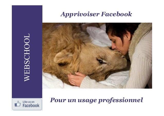 Apprivoiser FacebookPour un usage professionnel