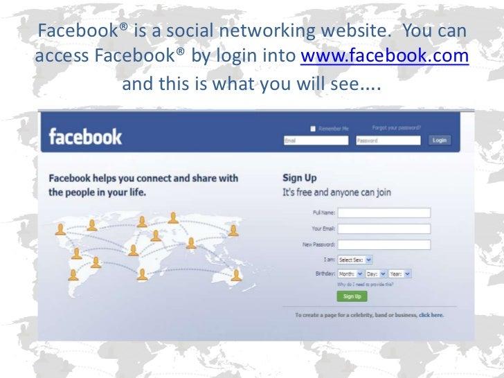 facebook powerpoint, Modern powerpoint