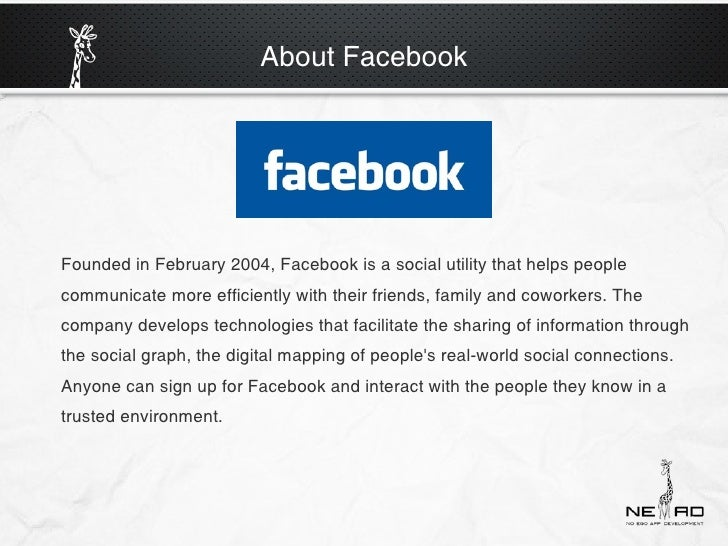 Facebook-What you need to know Slide 3