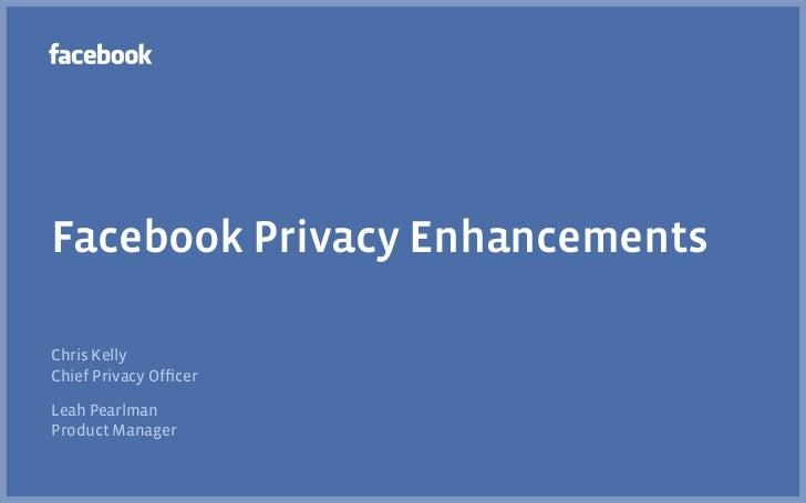 Facebook Privacy Enhancements Slide 2