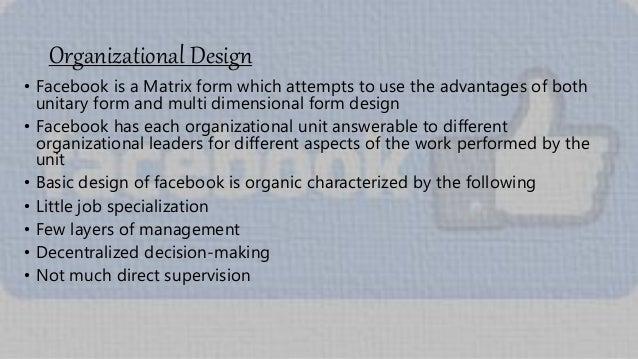 Facebook's Organisational Behavior, Structure & Culture