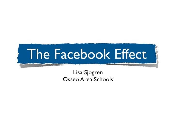 Lisa SjogrenOsseo Area Schools