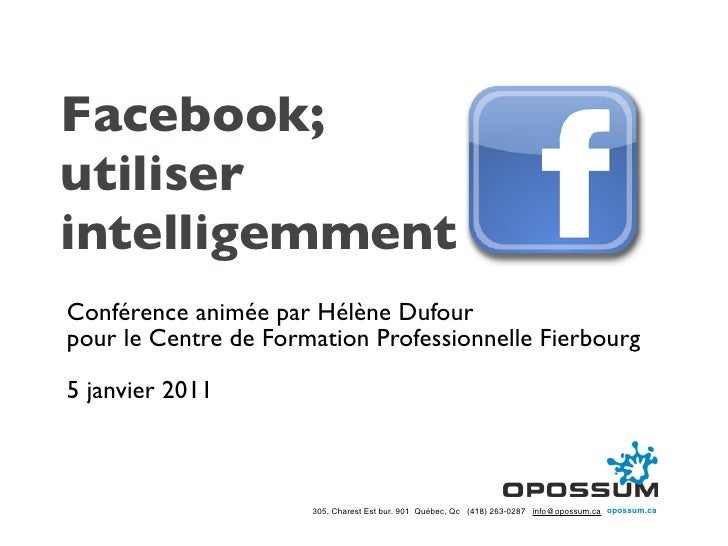 Facebook presentation slideshare