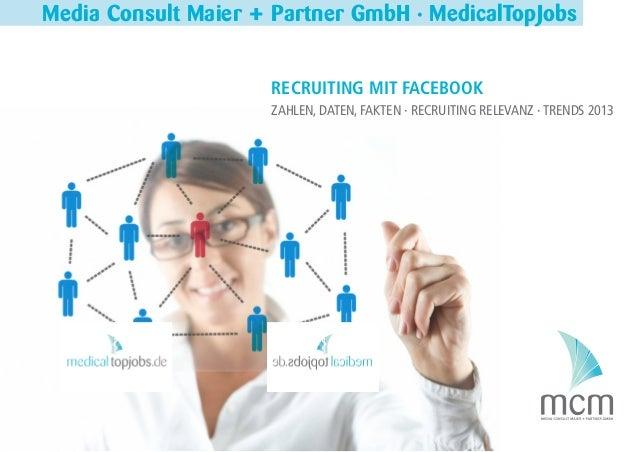 Media Consult Maier + Partner GmbH · MedicalTopJobs                                                                  RECRU...