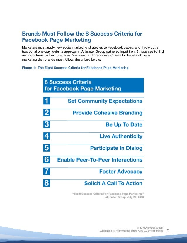 ! © 2010 Altimeter Group Attribution-Noncommercial-Share Alike 3.0 United States ! ! 5 Brands Must Follow the 8 Success Cr...