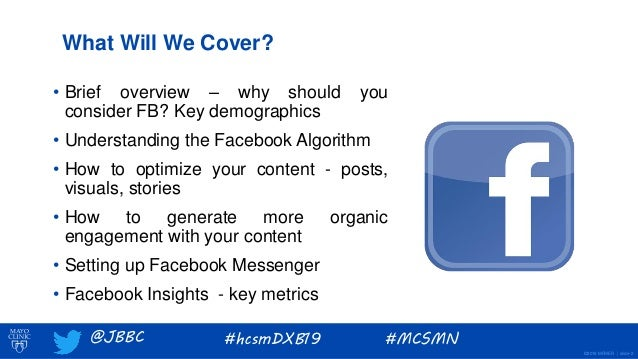 Facebook in Healthcare Marketing Slide 2