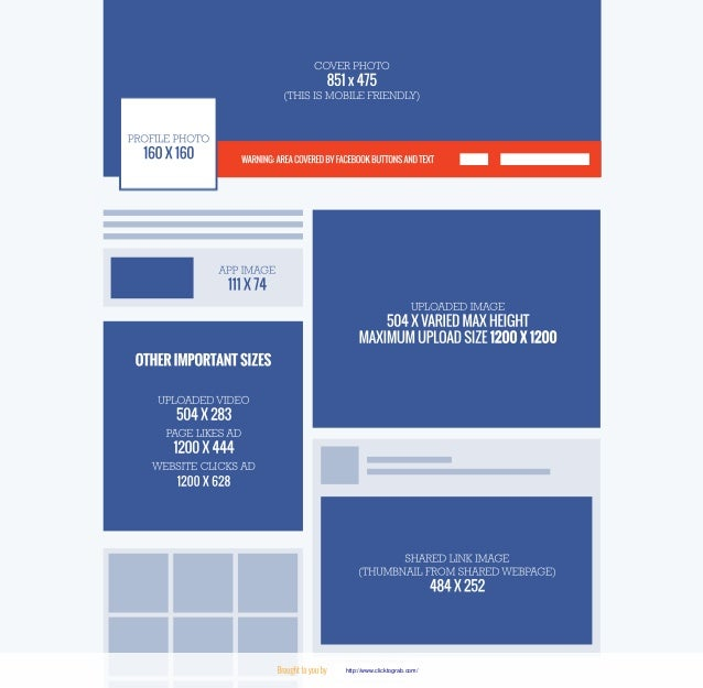 Facebook and twitter images size and dimensions