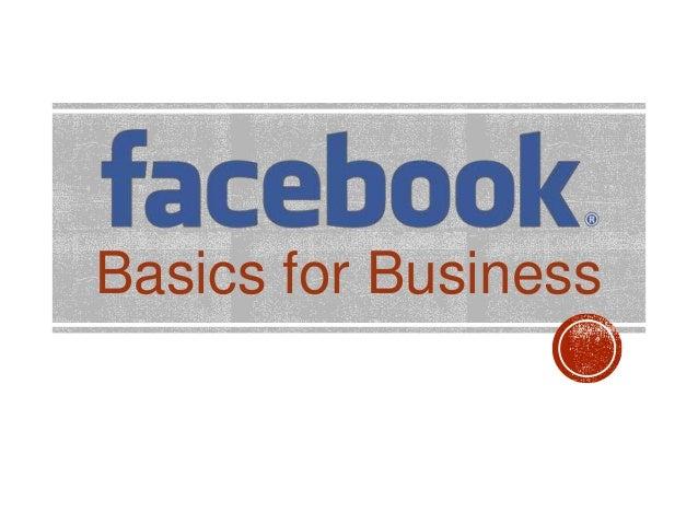 Basics for Business