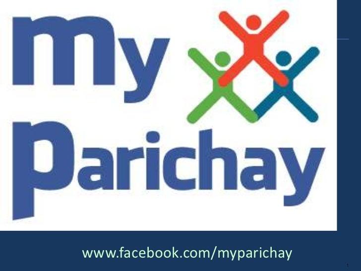 www.facebook.com/myparichay                              1