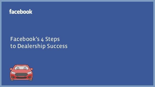 Facebook's 4 Steps to Dealership Success