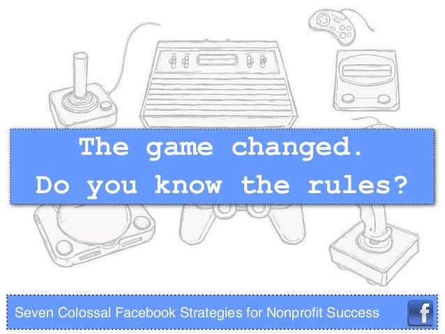 Facebook Success: 7 Strategies for Nonprofits Slide 3