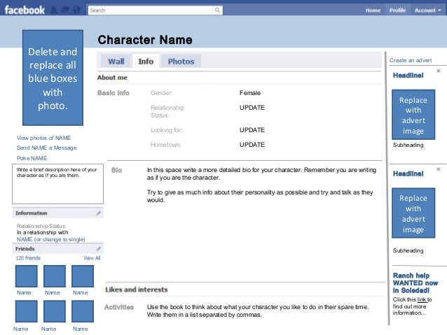 Character Analysis Template Character Analysis A Focused