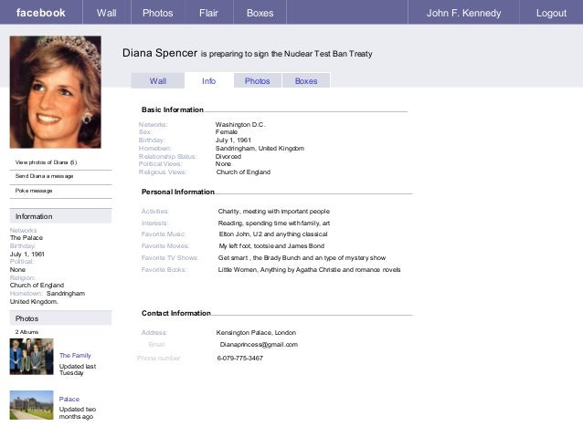 Facebook template use this to do the assignment Facebook Wall Template