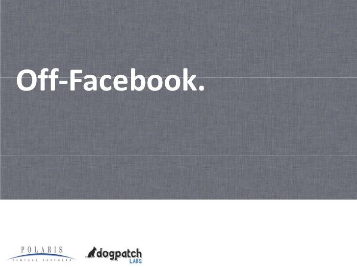 10 Ways to Leverage Facebook for Startups: Part 1 Slide 3