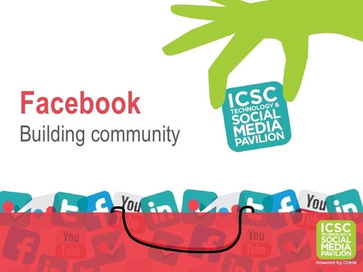 FacebookBuilding community