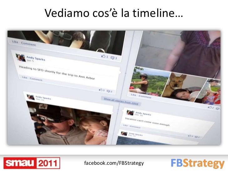 Vediamo cos'è la timeline…       facebook.com/FBStrategy