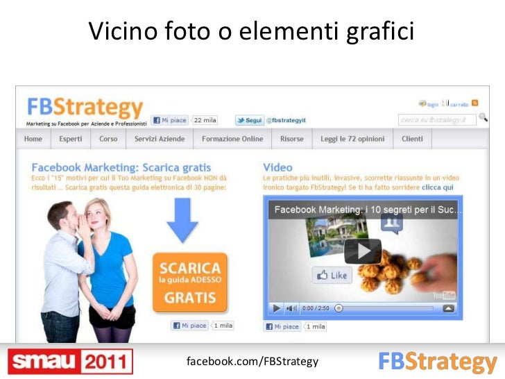 Vicino foto o elementi grafici         facebook.com/FBStrategy