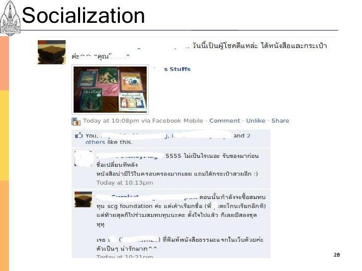 Socialization                     28