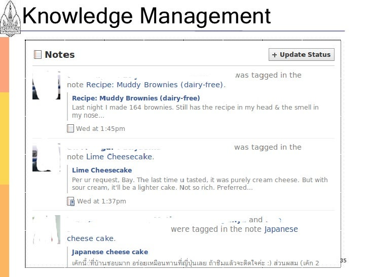 Knowledge Management                            35